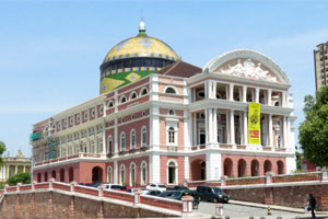 Theatro Amazon in Manaus